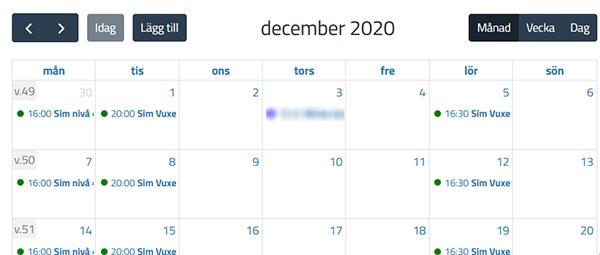 KanslietOnline Kalender